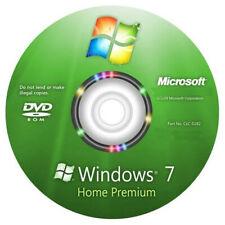 DVD Windows 7 Home Premium / Famille SP1 - 32/64 Bits -Media d'installation seul