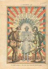 Arc de Triomphe Tombe de Soldat Inconnu Poilus WWI Tommies Sammies Paris 1935