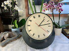 Secticon Clock VINTAGE Rare Mid Century Modern Gorgeous UNIQUE Swiss Made