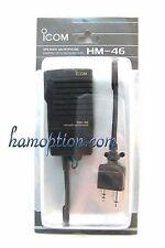 NEW ICOM HM-46 SP/Mic for IC-T2H IC-T7H IC-T90A IC-E90 IC-W32A IC-W32E IC-2GXAT
