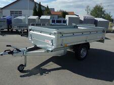 Hochlader Pkw Anhänger 1300kg - 1 Achse - 2,60x1,45 m - Bordwände abnehmbar NEU