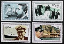 70th Birthday of Prince Philip stamps 1991 Tristan da Cunha, SG ref: 514-517 MNH