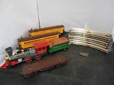 LIONEL 1862 GENERAL Locomotive & Tender + 1866, 1865, 1877 + Track