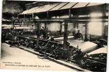 CPA GRENOBLE - Machine a Papier au depart de la Pate (210231)
