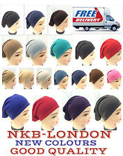NEW Women Ladies  Under Scarf Hijab Tube Bone  Bonnet Cap Stretch GOOD QUALITY