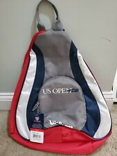 Wilson US Open Tennis Racquet Sling Bag NWT WRZ611398 Backpack Red White Blue