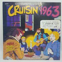 Cruisin' 1963 Various Artists LP Record Album 1988 Press NM