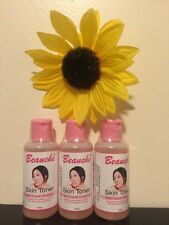 3 Pieces Beauche International Skin Toner. Lot Of 3. Usa Seller ��