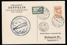 Zeppelin 1931, Landungsfahrt nach Ungarn 31.3.31 , Sieger 102 Aa