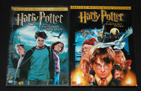 Harry Potter DVD Lot Widesscreen Editions Sorcerers Stone & Prisioner of Azkaban