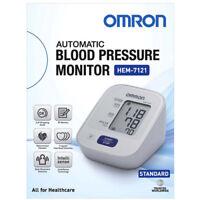 OMRON AUTOMATIC BLOOD PRESSURE MONITOR STANDARD HEM 7121 AU/NZ 5 YEARS WARRANTY