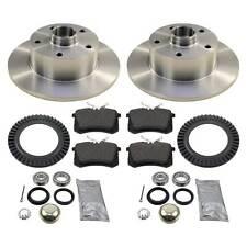 Bremsen hinten für AUDI A4 8D B5 Bremsscheiben Bremsbeläge Radlager ABS-Ringe