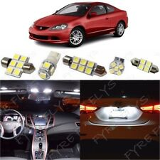9x White LED Interior Lights Package Kit for 2002-2006 Acura RSX +Tool AR1W
