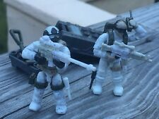 Winter Commando Sniper Special Forces Soldier (#1& 2 )Works With Most LEGO Sets