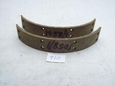 "FIBRAX M1058/1 FRONT BRAKE LININGS 8"" EARLY TRIUMPH UNIT 650,T120.37-1441,PRE"