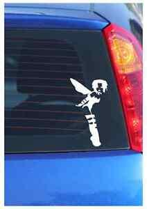 GOTH FAIRY - funny car van, bumper, windows, laptop, vinyl decal sticker