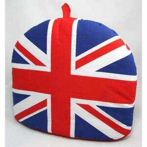 Union Jack Tea Cosy Large Padded 100% Cotton, London Collectable Souvenir