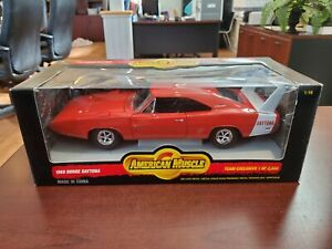 RARE 1969 Dodge Daytona Team Exclusive 1:18 American Muscle ERTL DieCast NOS