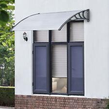 [en.casa] Überdachung Vordach Türvordach Haustürvordach Haustürdach 150x100cm
