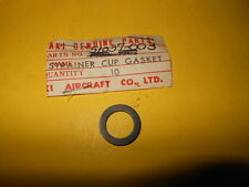 NOS OEM KAWASAKI C2SS C2TR D1 J1 G3SS FUEL COCK CUP GASKET 51037-003