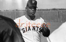 Willie Mays SAN FRANCISCO GIANTS - 35mm Baseball Negative