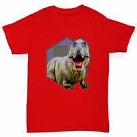 Twisted Envy Dinosaur TRex Run Boy's Funny T-Shirt