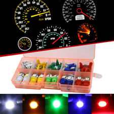 40Pcs Auto Car T5+T10 LED 5050 Instrument Panel Dashboard Light Lamp Indicator