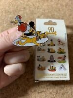 Disney Pluto 90th Anniversary Donald Ice Skating Mystery 2020 Pin LE 1000