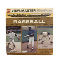 VINTAGE Instructional Baseball - View-Master 3Reel Packet - A953