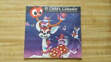 Vintage Red Owl Grocery Food Store 1966 A childs Calendar Hopkins Minnesota