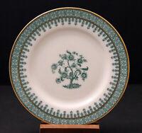 Theodore Haviland Cambridge Green Bread & Butter Plate. Gold Trim