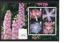 GB - PRESTIGE STAMP BOOKLET PANE (36) - Flowers - unm.mint