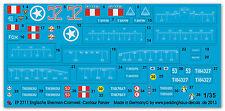 Peddinghaus 2711 1/35 Royal Marines Sherman-Cromwell und Centaur Panzer