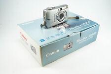 **GOOD** Canon PowerShot SD500 / Digital IXUS 700 7.1MP Digital Camera - Silver