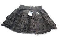 Girls Designer  Black Ra ra Skirt  - BNWT