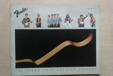 Fender  1982 catalogo vintage