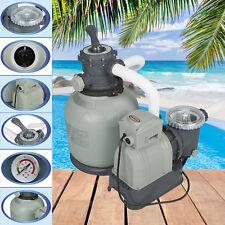 Intex Sandfilter 7.9m³ Sandfilteranlage Filter für Pool Filterpumpe Filterkessel