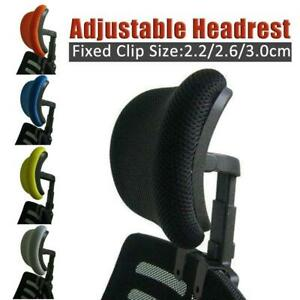 Chair Headrest Office Seat Adjustable Swivel Lifting Neck Spine Back Su S3G5