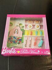 New 2018 Barbie The Pioneer Woman Accessory Bbq Set Ree Drummond Mattel