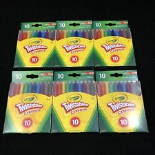 Crayola Twistables Crayons 10 Count Each (Pack Of 6)