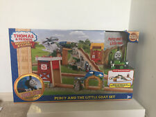 New Thomas & Friends Wooden Realway Percy and the Little Goat Set CCX59-9993
