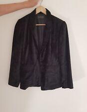 CUE velvet blazer Size 8