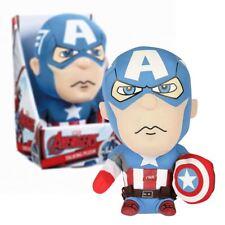 Neu Avengers Captain America 24.1cm Sprechenden Plüsch Marvel Offiziell