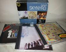3 CD LYNYRD SKYNYRD - NUTHIN' FANCY - SECOND HELPING - STREET SURVIVORS