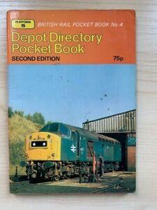 Platform 5 British Rail Depot Directory Pocket Book 2nd Edition 1980