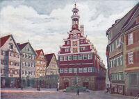 AK Eßlingen am Neckar. Altes Rathaus. Nordseite.