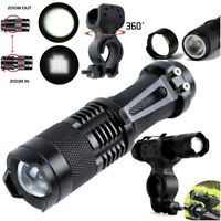 20000LM Q5 LED Cycling Bike Bicycle Head Light Flashlight Torch+ 360° Mount Clip