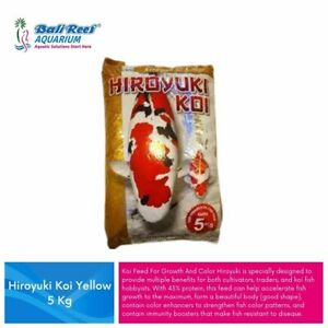 HIroyuki Koi Fish Food Colour And Growth 5 kg