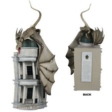Universal Studios Wizarding World Harry Potter Gringotts Bank With Dragon Statue
