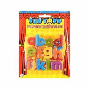 Magnetic Letters Children's Kids Learn Alphabet Toy Fridge Magnets Lower Case